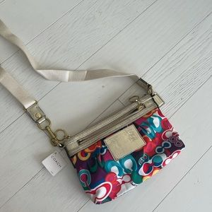 Coach Poppy Crossbody Handbag Limited Edition
